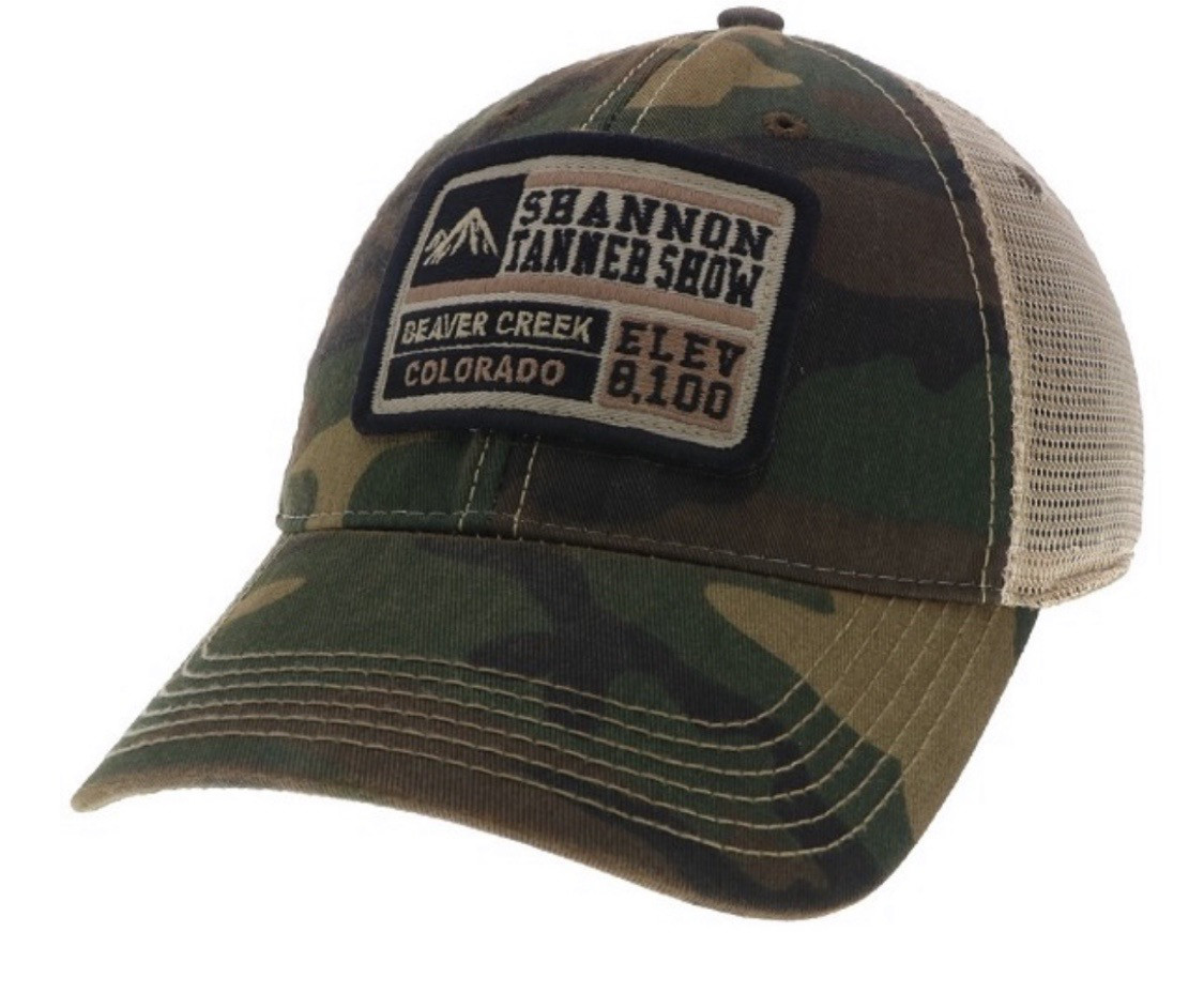 Beaver Creek/Shannon Tanner Show Limited Edition (Camo) Legacy Soft Mesh Trucker Hat