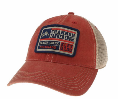 Beaver Creek/Shannon Tanner Show Limited Edition (Scarlet Red) Legacy Soft Mesh Trucker Hat
