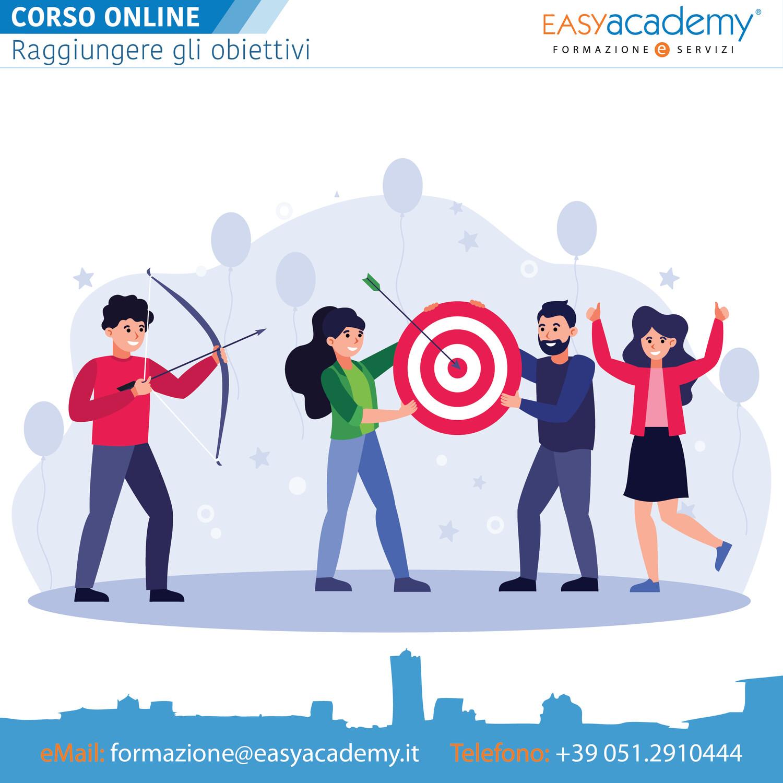 Corso Online - Raggiungere gli obiettivi