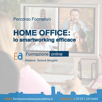 Percorso Formativo - L'home office efficace