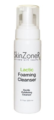 SkinZone RX Lactic Foaming Cleanser