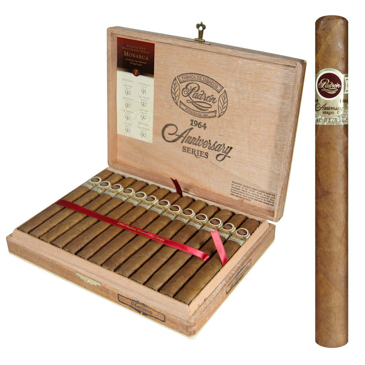 Padron 1964 Monarca Natural