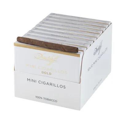 Davidoff Mini Cigarillo Gold 10's Pack