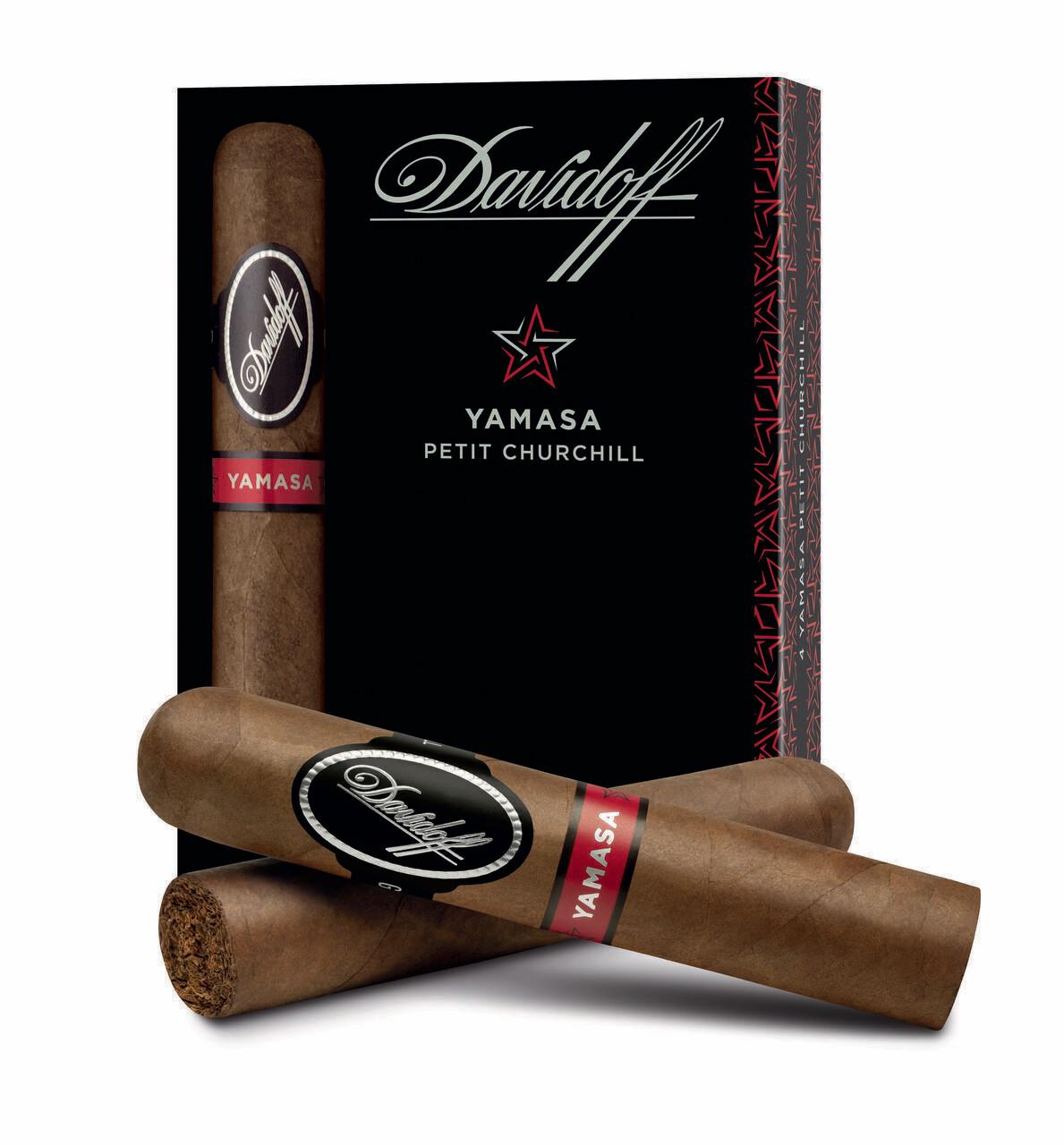 Davidoff Yamasa Petit Churchill 4-Pack