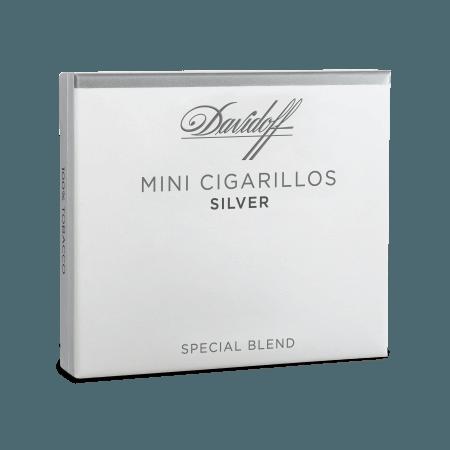Davidoff Mini Cigarillo Silver 10's Pack