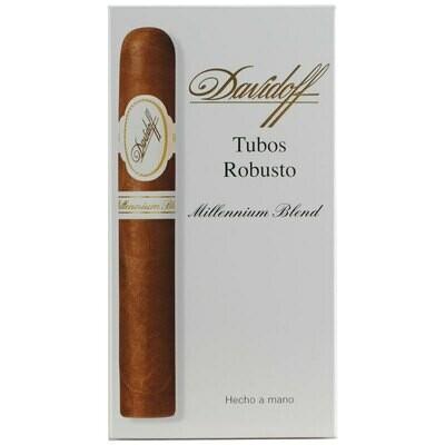 Davidoff Millennium Blend Robusto Tubo 3-Pack