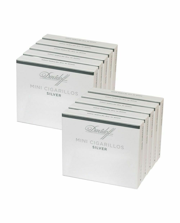 Davidoff Mini Cigarillo Silver 20s Sleeve