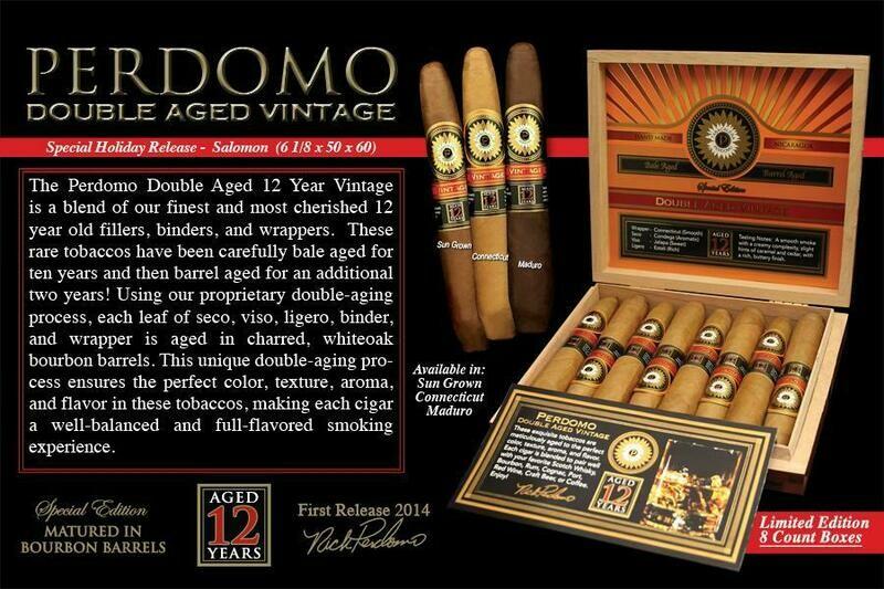 Perdomo Double Aged Salomon Connecticut