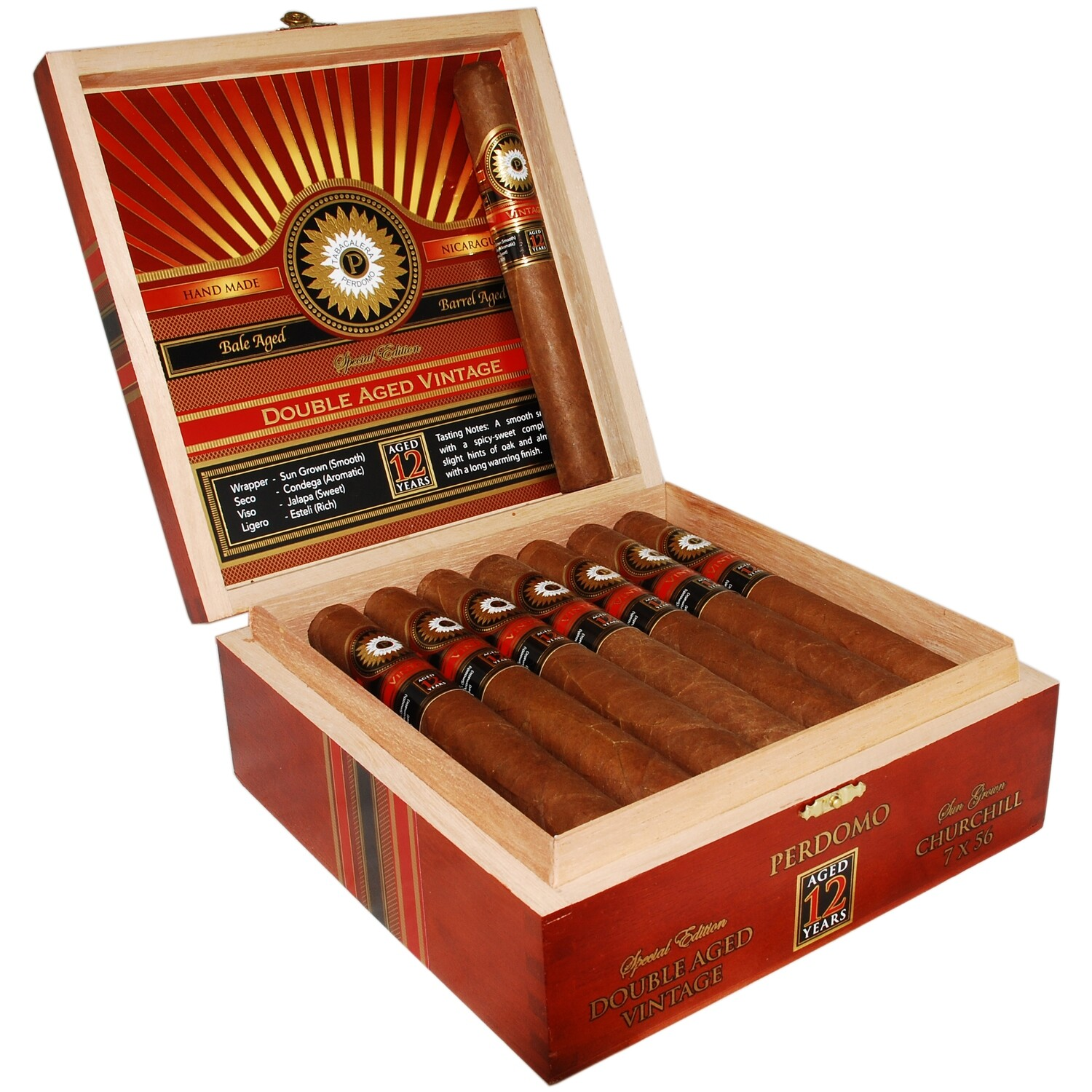 Perdomo Double Aged 12 Year Vintage Churchill Sun Grown