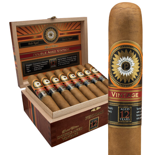 Perdomo Double Aged 12 Year Vintage Churchill Connecticut