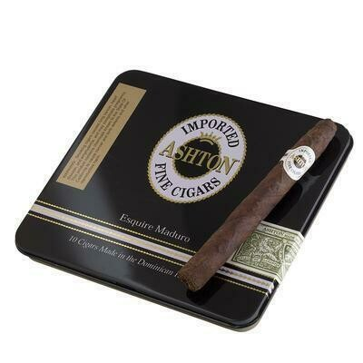 Ashton Esquire Maduro Tin