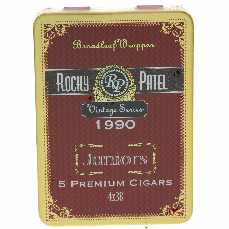 Vintage 1990 Junior Tin