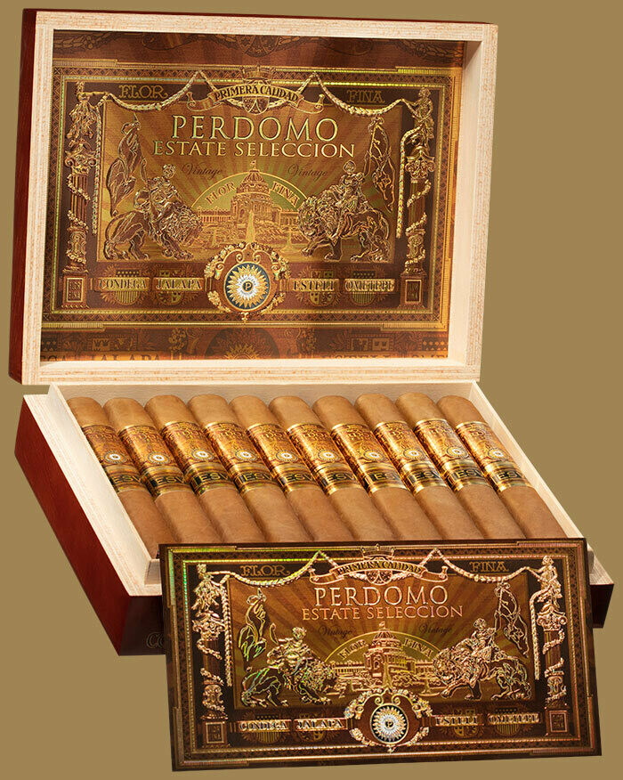 Perdomo Estate Selection Vintage 1991 Regente Connecticut