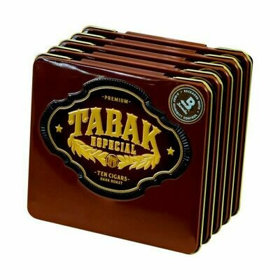 Tabak Especial Cafecita Dark Tin