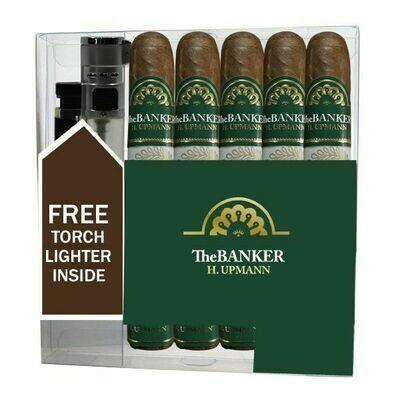 H Upmann Banker Annuity 5 pack w/ lighter