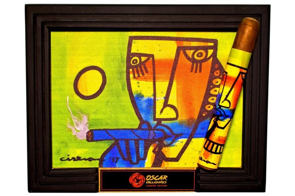 Oscar Valladares Ciseron Edition Verde/Azul