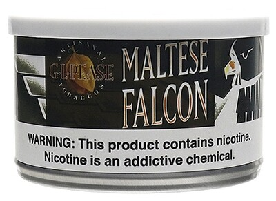 G.L. Pease Maltese Falcon - 2oz Tin