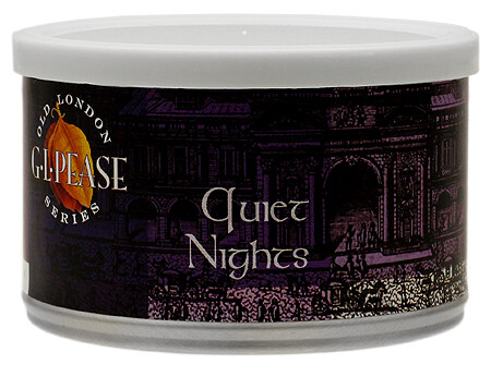 G.L. Pease Quiet Nights - 2oz Tin