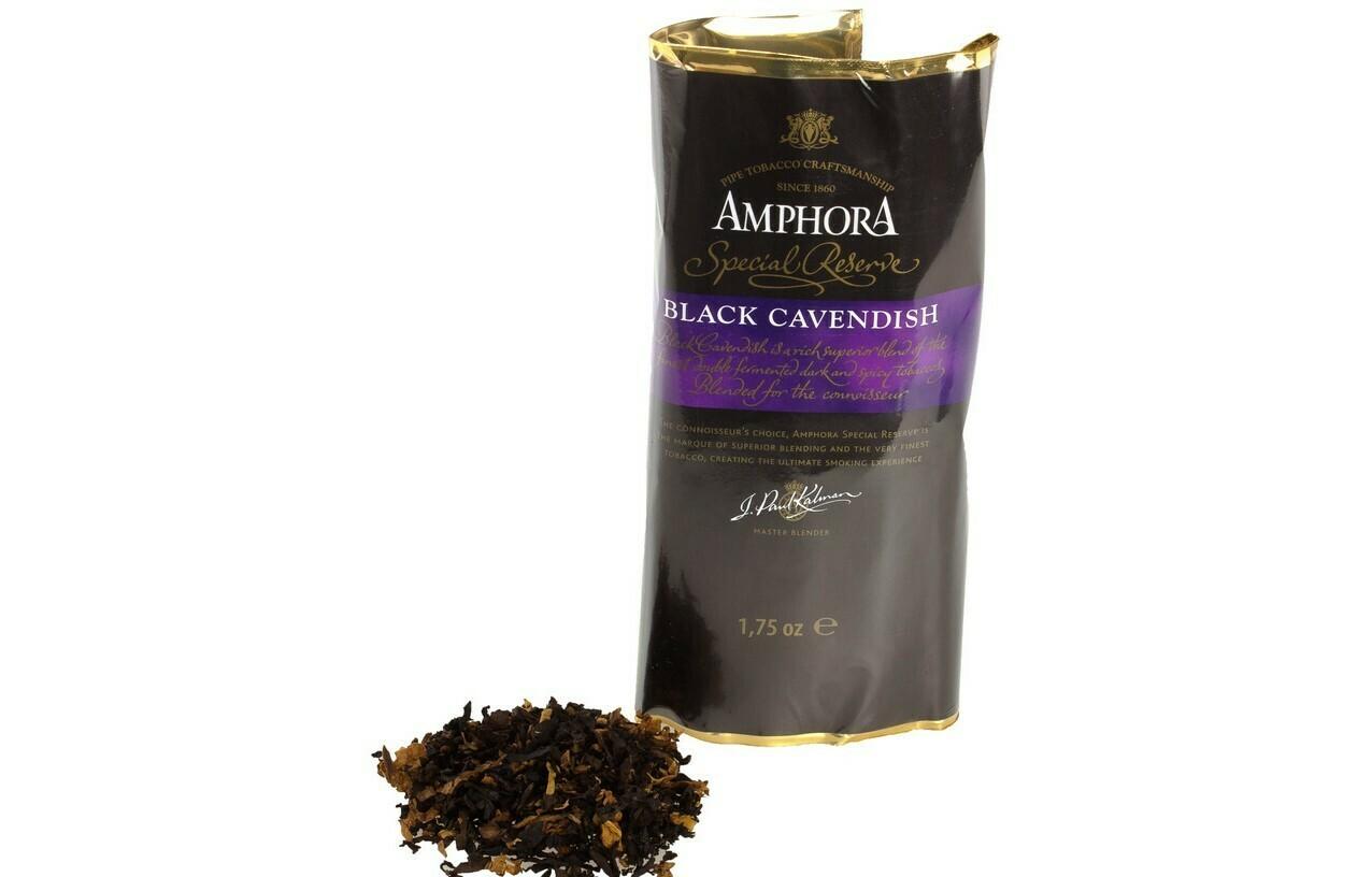 Mac Baren Amphora Black Cavendish Special Reserve - 1.75oz Pouch