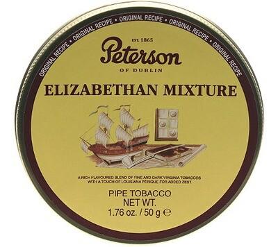 Peterson Elizabethan Mixture - 50g Tin