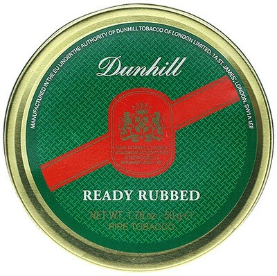 Dunhill Ready Rubbed - 50g Tin