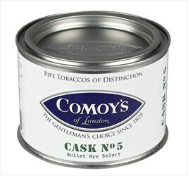 Comoy's Cask #5 Bullet Rye Select - 3.5oz Tin