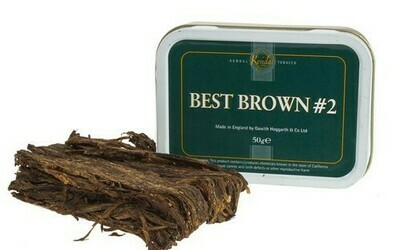 Gawith Hoggarth & Co. Best Brown #2 - 50g Tin