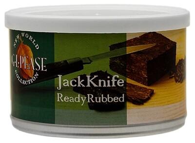 G.L. Pease JackKnife Ready Rubbed - 2oz Tin