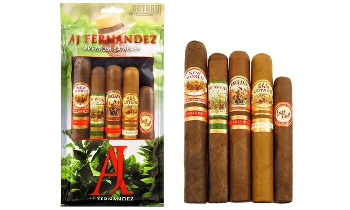 AJ Fernandez Green Fresh Pack Sampler