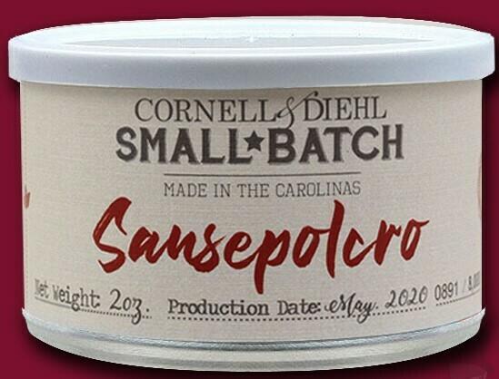 Cornell & Diehl Sansepolcro - 2oz Tin