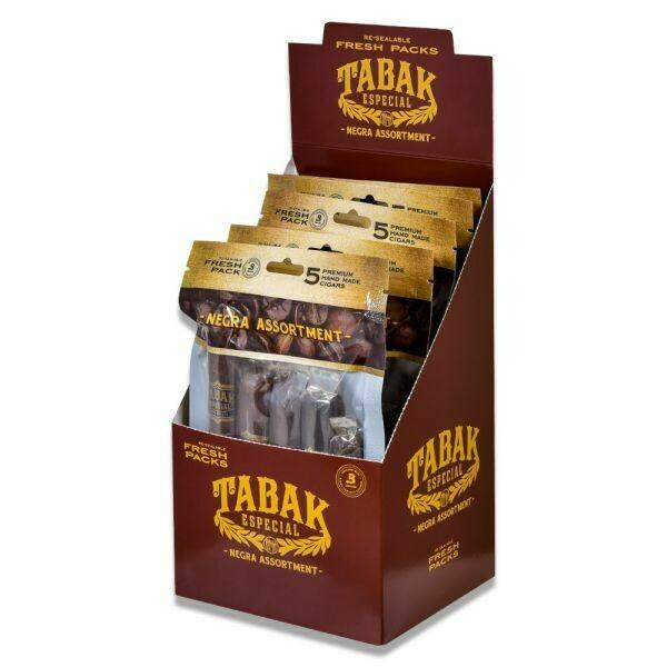 Tabak Especial Assortment Negra Fresh Pack