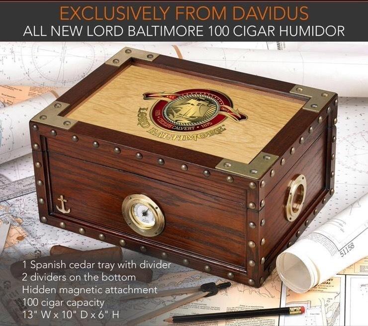 Lord Baltimore Humidor
