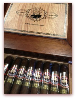 CB Reposado Robusto (Boxes of 20)