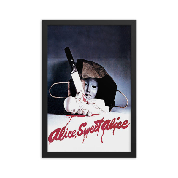 "12"" x 18"" Alice Sweet Alice Framed Movie Poster"