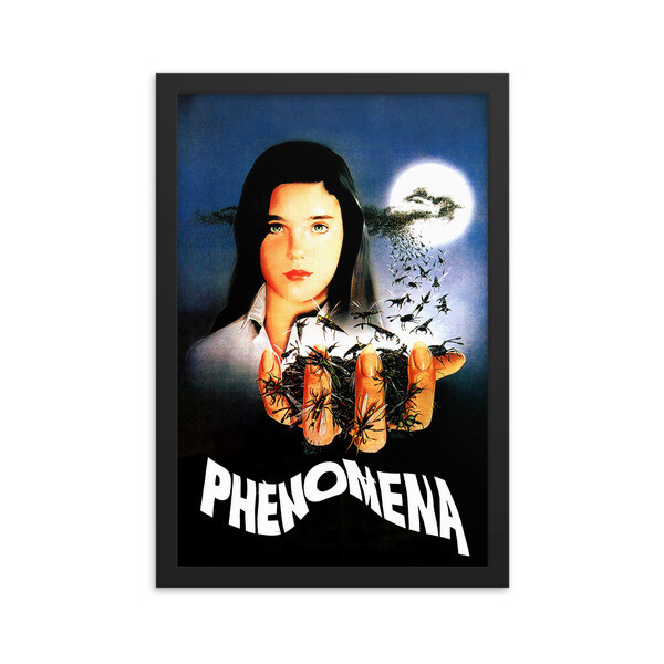 "12"" x 18"" Phenomena Framed Movie Poster"