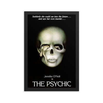 """12"""" x 18"""" The Psychic Framed Movie Poster"""