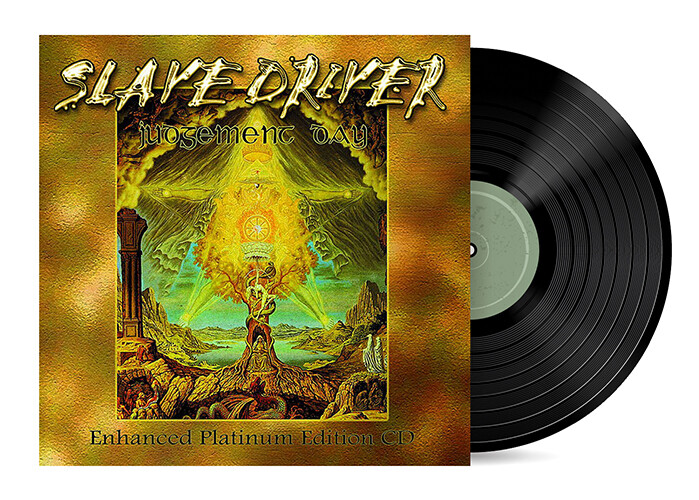 Judgement Day by Slave Driver [Vinyl LP] + Re Mastered CD