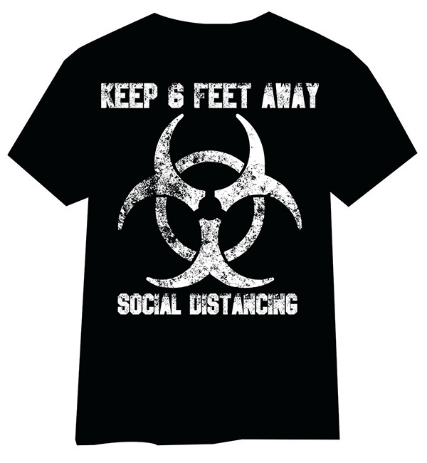 Social Distancing T-Shirt 2