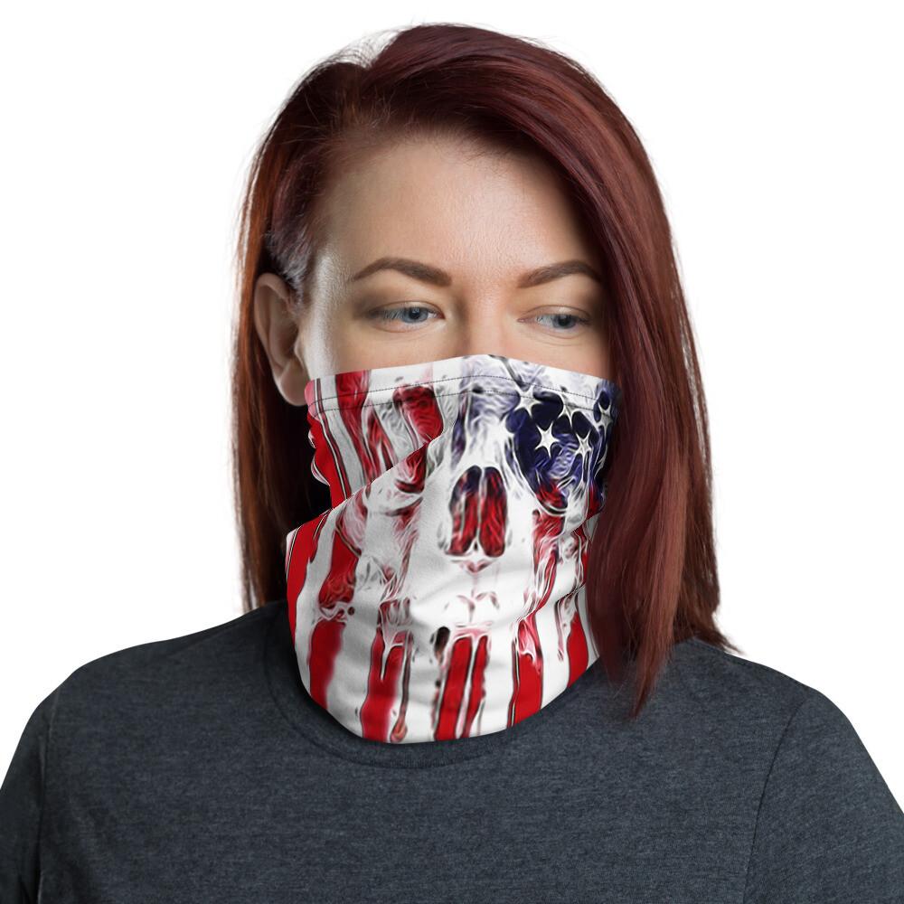 Flag Skull Face Mask