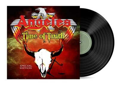 Time of Truth by Angeles [Vinyl LP]