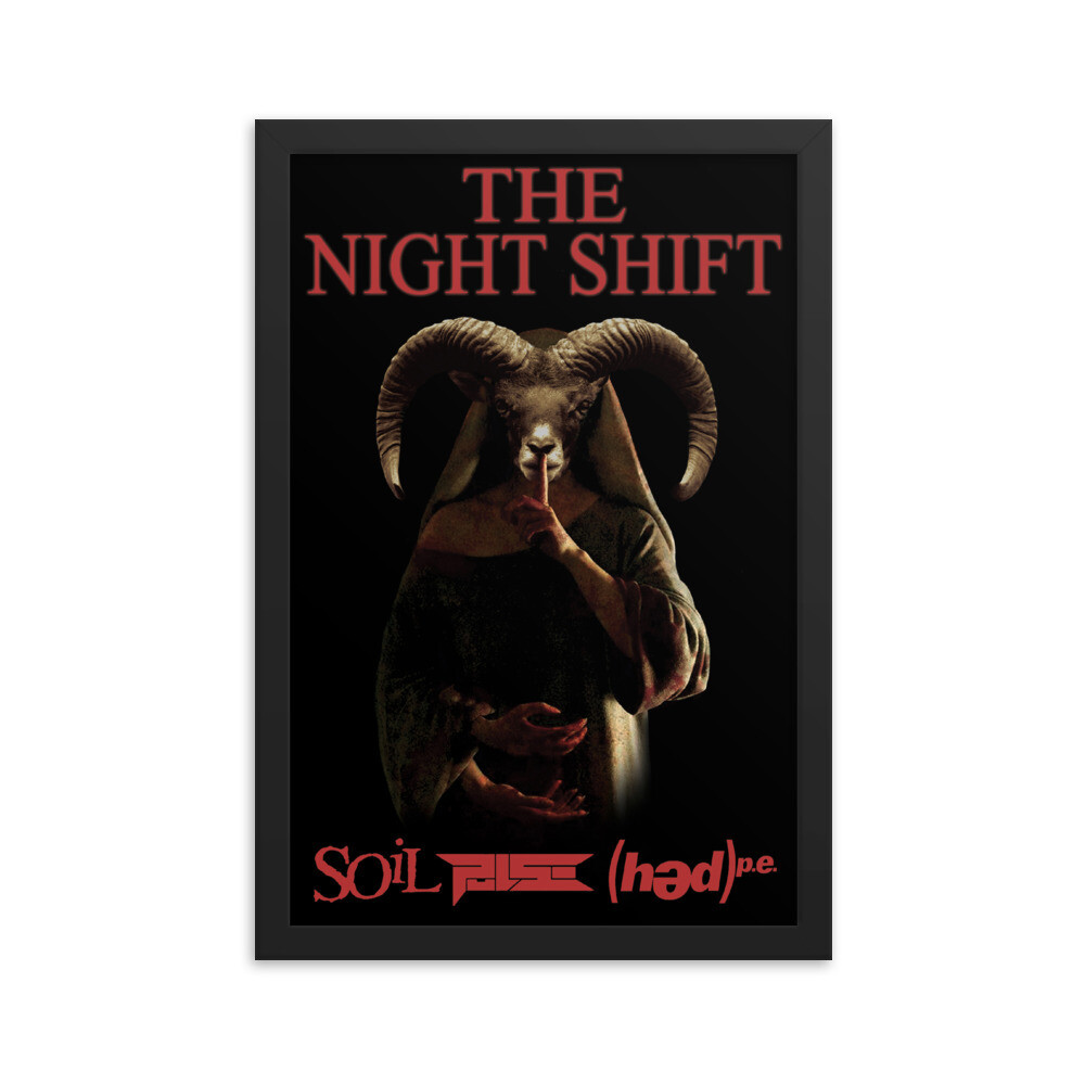 "12"" x 18"" The Night Shift Framed Movie Poster"