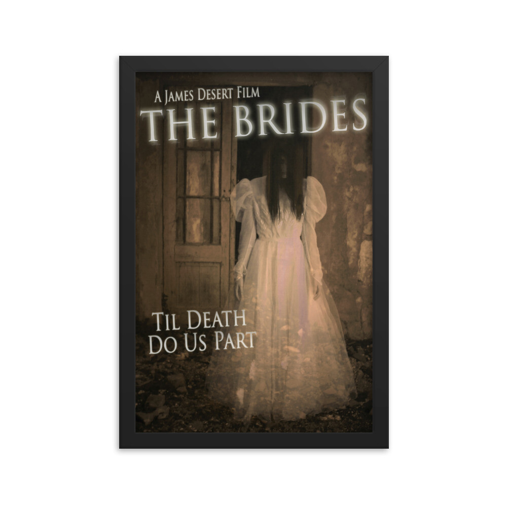 "12"" x 18"" The Brides Framed Movie Poster"