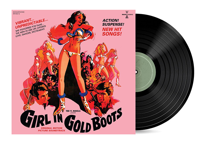 Girl in Gold Boots Original Motion Picture Soundtrack [Vinyl LP]