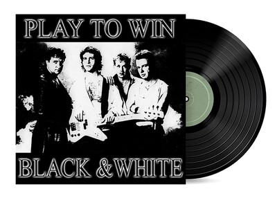 Play to Win by Black & White [Vinyl LP] Two Album Set + CD