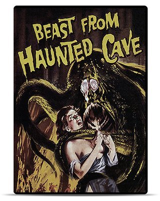 Beast From Haunted Cave [DVD Rental]