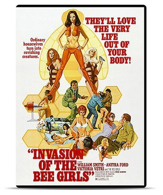 Invasion of the Bee Girls [DVD Rental]