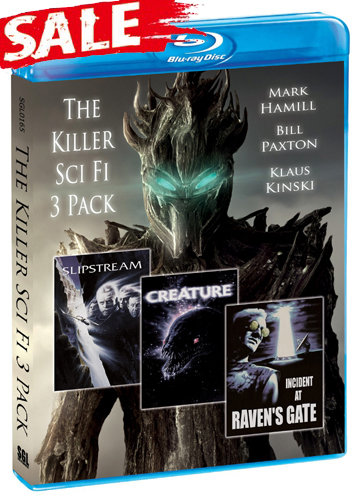 The Killer Sci fi 3 Pack [Blu-ray]