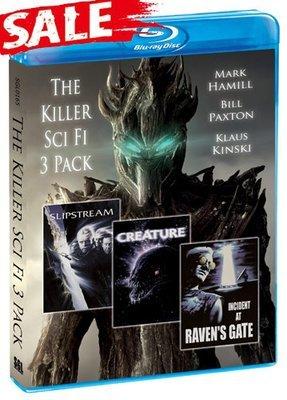 The Killer Sci fi 3 Pack [Blu-ray]