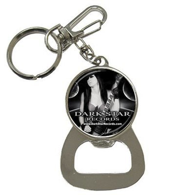 Dark Star Records Bottle Opener Key Chain