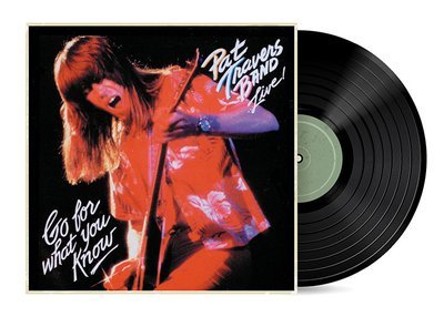 Go For What You Know by Pat Travers [Vinyl LP]